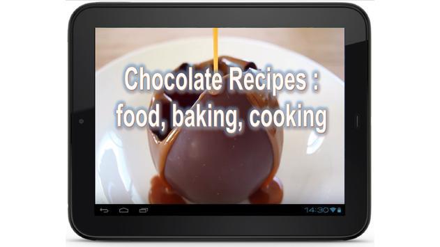 Chocolate Recipes: Food Recipes, Baking, Cooking screenshot 5