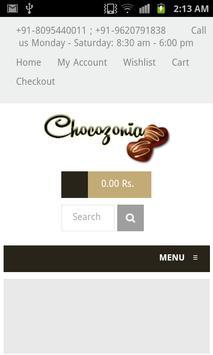 Chocozonia apk screenshot