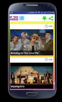 Backstreet Boys Video Music screenshot 7
