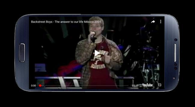 Backstreet Boys Video Music screenshot 2