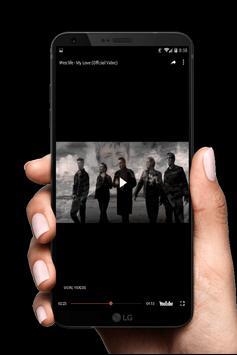 westlife music and video screenshot 2
