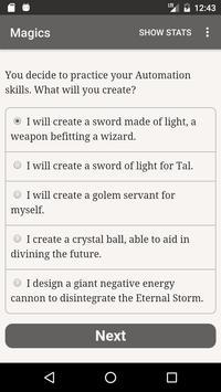 Choice of Magics スクリーンショット 1