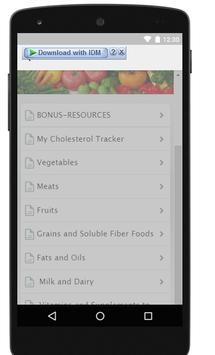 Total Cholesterol Medications apk screenshot