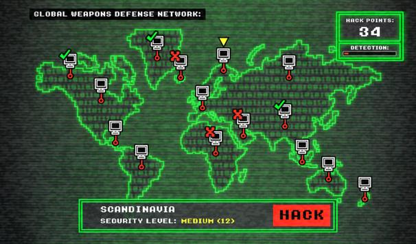 Nuclear Hack INC. - War Sim apk screenshot