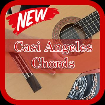 Casi Angeles Chords Guitar poster