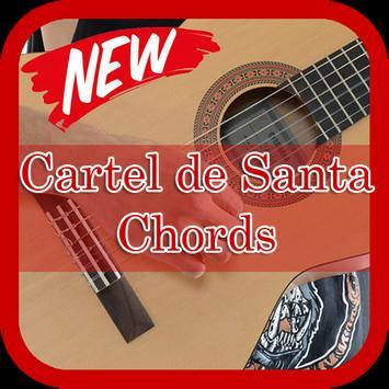 Chords Guitar of Cartel de Santa poster