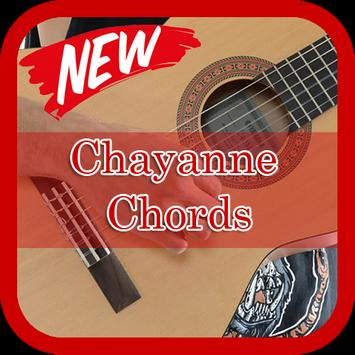 Chayanne Chords Guitar poster