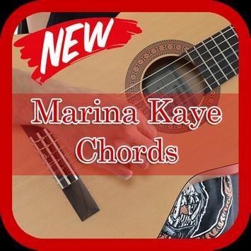 Marina Kaye Chords Guitar poster