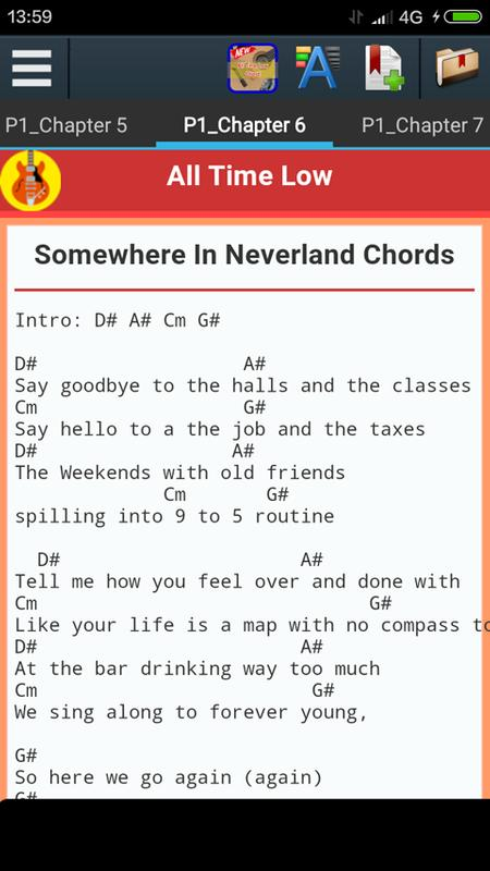 All Time Low Songs Chords Apk