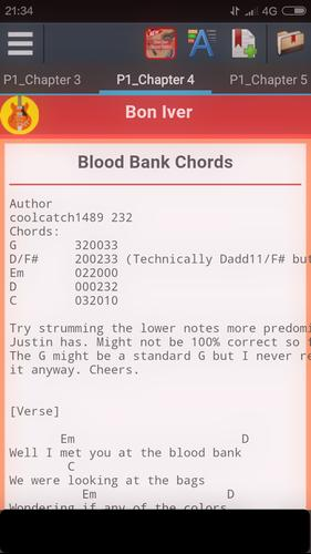 Bon Iver Chords For Android Apk Download