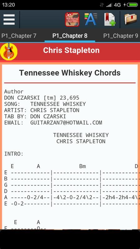 Chris Stapleton Chords APK Download - Free Books & Reference APP for ...