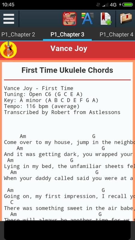 Vance Joy Chords For Android Apk Download
