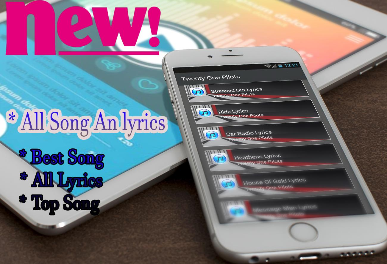 Twenty One Pilots Stressed Out Best Song Lyrics For Android Apk