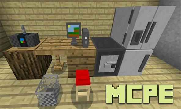 Mine-Furniture Addon for MCPE screenshot 2
