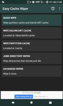 Easy Cache Wiper [Root] poster