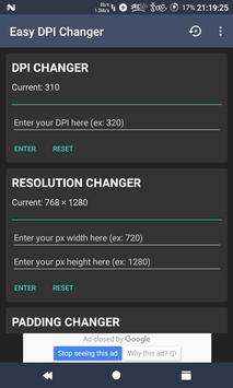 Easy DPI Changer [Root] poster