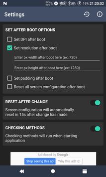 Easy DPI Changer [Root] apk screenshot