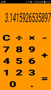 Calculator in colors! screenshot 2