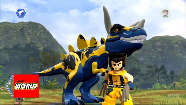 New LEGO Wolverine Dinos Of Jewels World poster