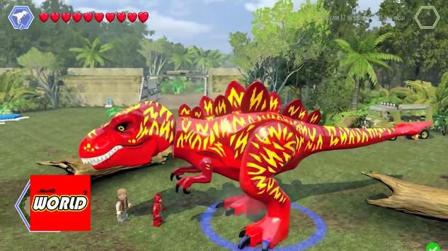 New LEGO Flash Dinos Of Jewels World screenshot 3