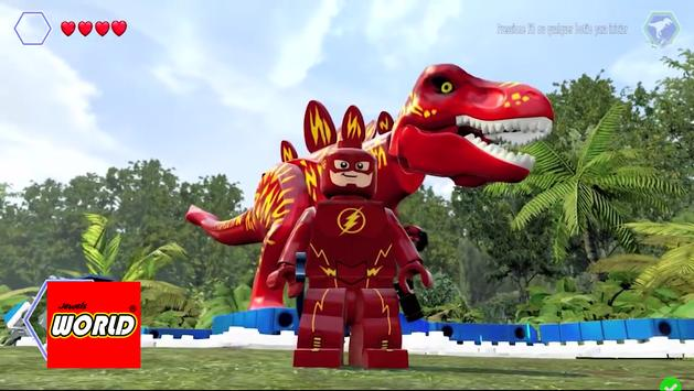 New LEGO Flash Dinos Of Jewels World poster
