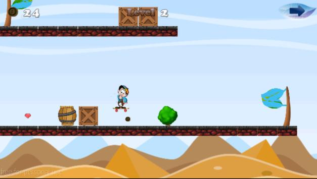Τchoupi Skater Of Doudou World screenshot 4