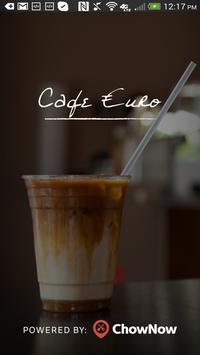 Cafe Euro-Jesup poster