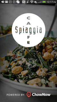 Cafe Spiaggia poster
