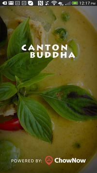 Canton Buddha poster