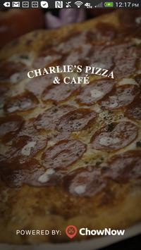 Charlies Pizza & Cafe poster