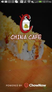 China Cafe Belton poster