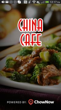 China Cafe Charlotte poster