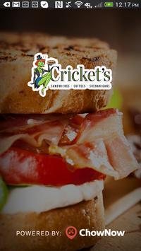 Cricket's Deli poster