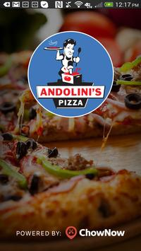 Andolini's Pizza MT. PLEASANT poster