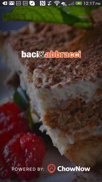Baci & Abbracci poster