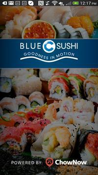 Blue C Sushi poster