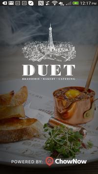 Duet Bakery and Restaurant poster