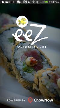 eeZ Fusion Sushi poster