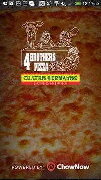 Four Brothers Pizza poster