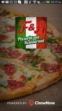 F&A Pizza Restaurant poster