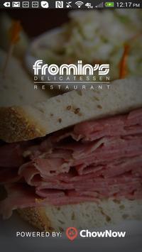 Fromin's Delicatessen poster