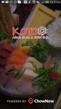 Koto Grill & Sushi poster