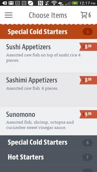 Koi 21 Japanese Cuisine apk screenshot