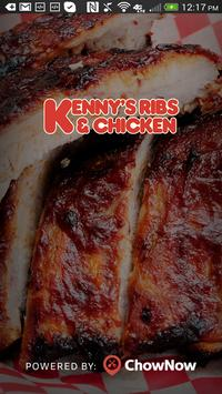 Kenny's Ribs & Chicken poster