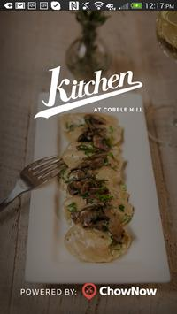 Kitchen At Cobble Hill poster