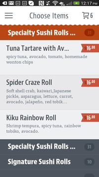 Kiku Japanese Steak House screenshot 2