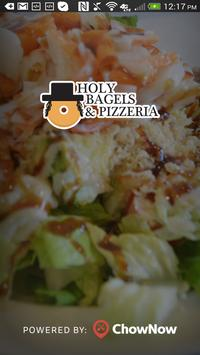 Holy Bagels & Pizzeria poster