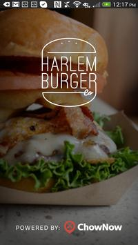 Harlem Burger Co poster