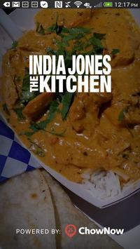 India Jones The Kitchen poster