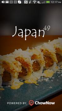 Japan 49 poster
